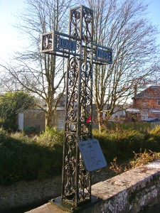"alt=""WW2 Memorial at Holy Trinity Church Bradpole"""