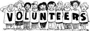 """volunteers"" logo"