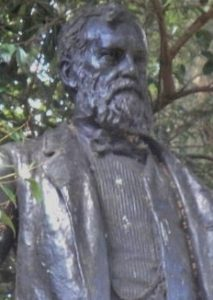 A photo of WE Forster's Statue in London