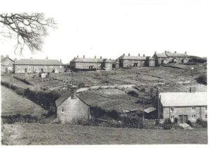 An archive photo of Newfoundland in Bradpole Village