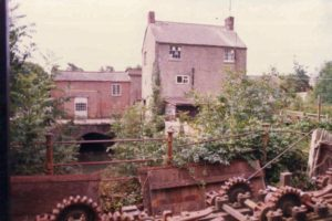A photo of Mill building pre redevelopment