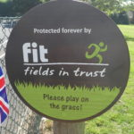 Fields in Trust sign