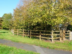 """alt=""""new fencing at Townsend Way"""""""