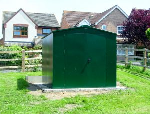 New shed at Gore Cross Green